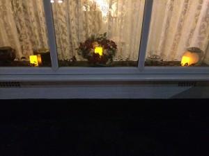 Front Window Christmas