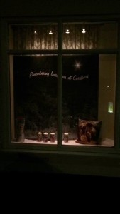 Side Window Christmas